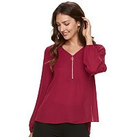 Women's Apt. 9® Zip Front Top