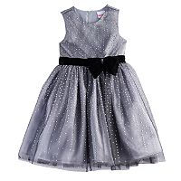 Girls 4-6x Nannette Foil Dot Knit Dress