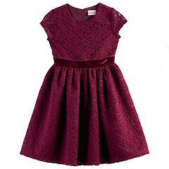 Girls 4-6x Nannette Lace Woven Dress