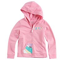 Girls 4-10 Jumping Beans® Printed French Terry Hoodie