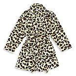 Linum Home Textiles Super Plush Leopard Print Bathrobe
