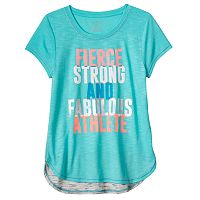 Girls 7-16 SO® Blocked Droptail Dolman Tee