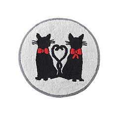 HipStyle Mimi Cat Tufted Round Bath Rug