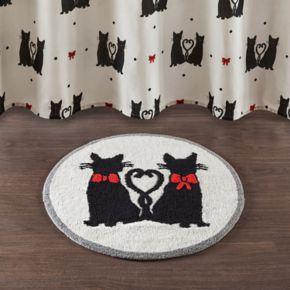 HipStyle Mimi Cat Tufted Round Bath Rug