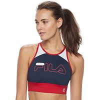 FILA SPORT® Bras: High Neck Medium-Impact Sports Bra