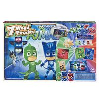 PJ Masks 7-pk Wood Puzzle by Cardinal Games