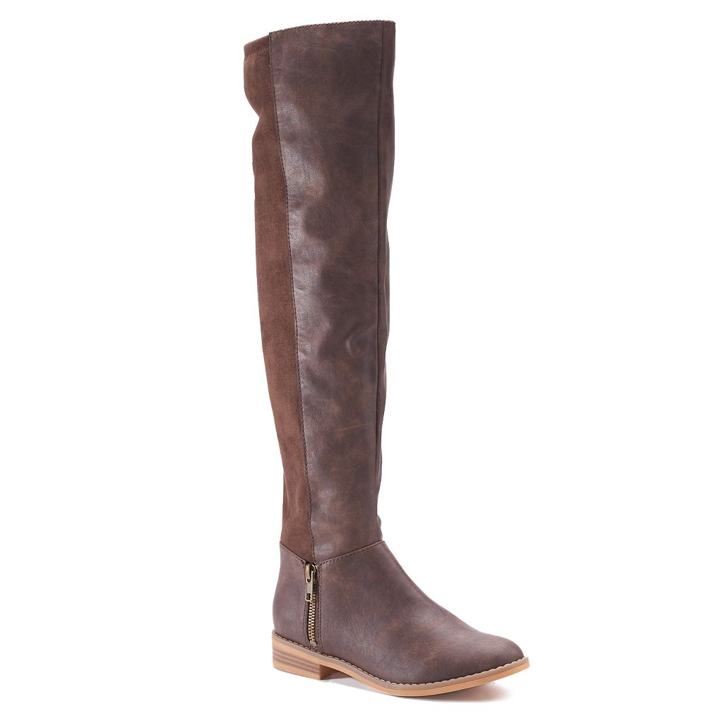 Unleashed by Rocket Dog Martina Woman's Over-The-Knee Boots