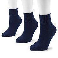 SONOMA Goods for Life™ 3-pk. Turncuff Anklet Socks
