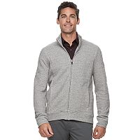 Men's Marc Anthony Slim-Fit Marled Mockneck Jacket