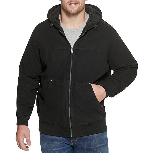 Big & Tall Levi's® Sherpa-Lined Workwear Bomber Jacket