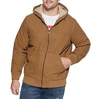 Big & Tall Levi's® Sherpa-Lined Workwear Bomber Jacket