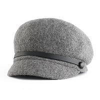Women's Apt. 9® Wool Knit Newsboy Hat