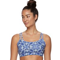 Gaiam Bra: Shine Wire-Free Low-Impact Yoga Sports Bra 44-00001