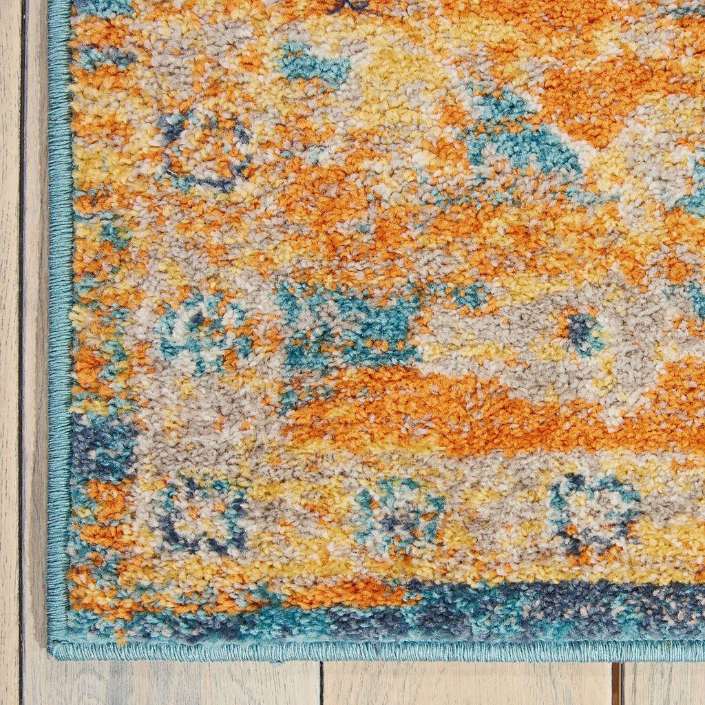 Nourison Passion Framed Floral Rug - 5' x 7'
