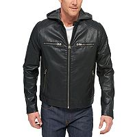 Big & Tall Levi's® Faux-Leather Racer Jacket