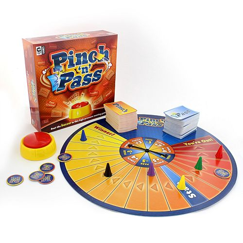 Pinch 'n' Pass Game by Ginger Fox