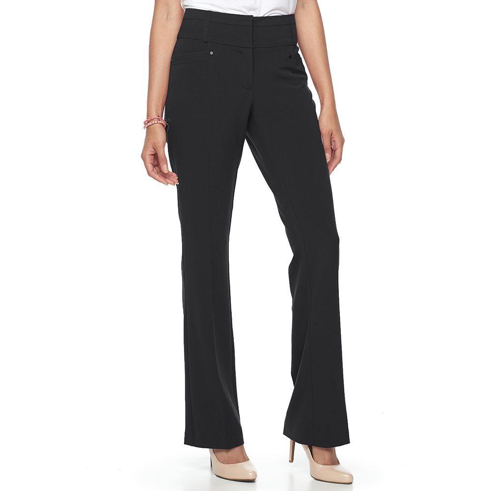 Juniors' Candie's® Marilyn Midrise Bootcut Pants