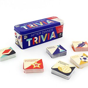 After Dinner Trivia Game by Ginger Fox