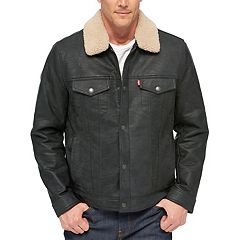 Big & Tall Levi's® Sherpa-Collar Trucker Jacket