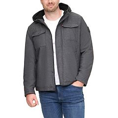 Big & Tall Levi's® Sherpa-Lined Softshell Trucker Jacket