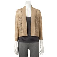 Women's Ronni Nicole Crochet Shrug