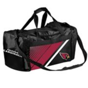 Forever Collectibles Arizona Cardinals Striped Duffle Bag