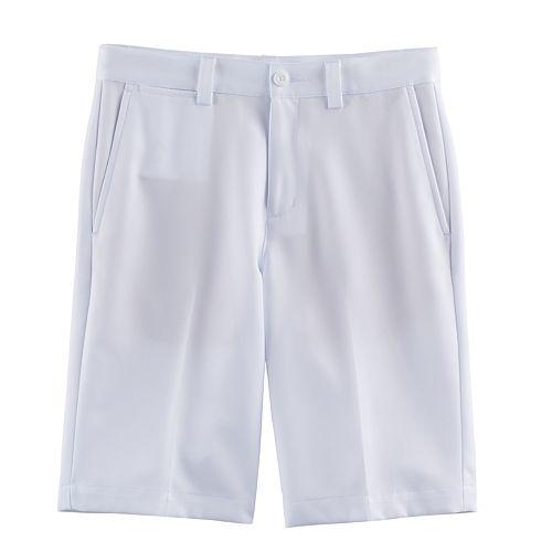 Boys 8-20 PGA Tour Flat-Front Solid Golf Shorts