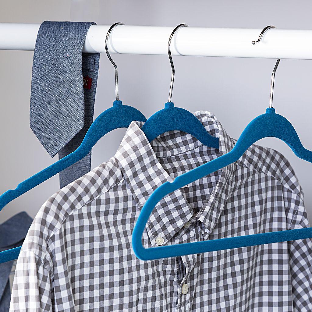 Honey-Can-Do 25-pack Flocked Suit Hanger