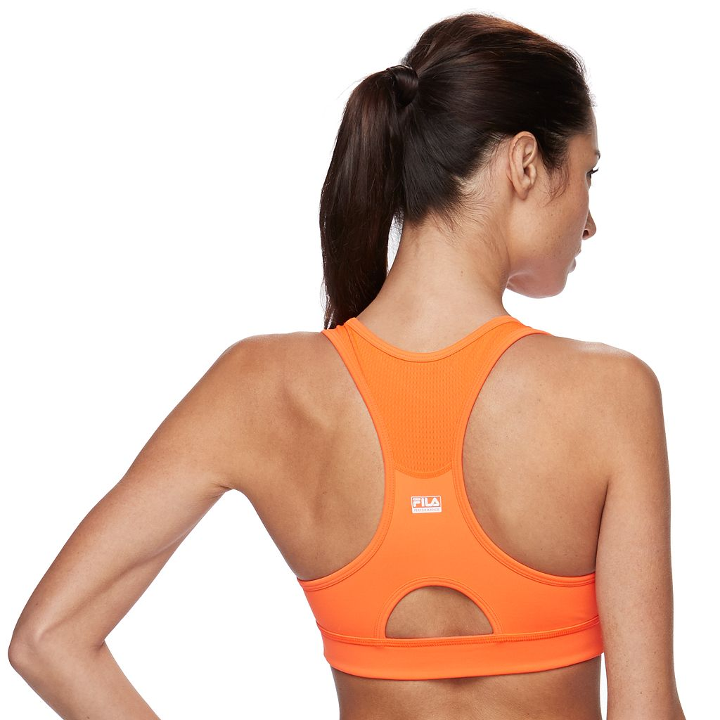 FILA SPORT® Bras: Medium-Impact Performance Running Sports Bra