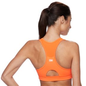 FILA SPORT® Bras: Medium-Impact Performance Running Sports Bra