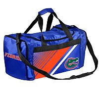 Forever Collectibles Florida Gators Striped Duffle Bag