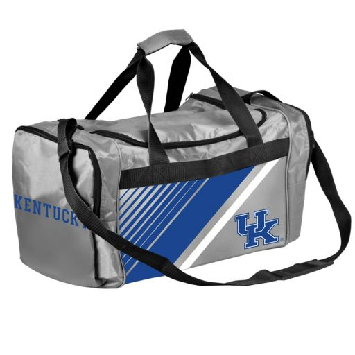 Forever Collectibles Kentucky Wildcats Striped Duffle Bag