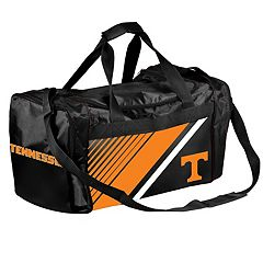 Forever Collectibles Tennessee Volunteers Striped Duffle Bag