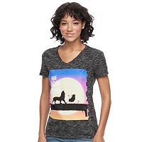 Disney's The Lion King Juniors' High-Low Graphic Tee