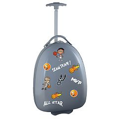 Youth San Antonio Spurs Wheeled Pod Luggage