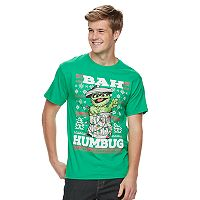 Men's Oscar the Grouch Holiday Tee