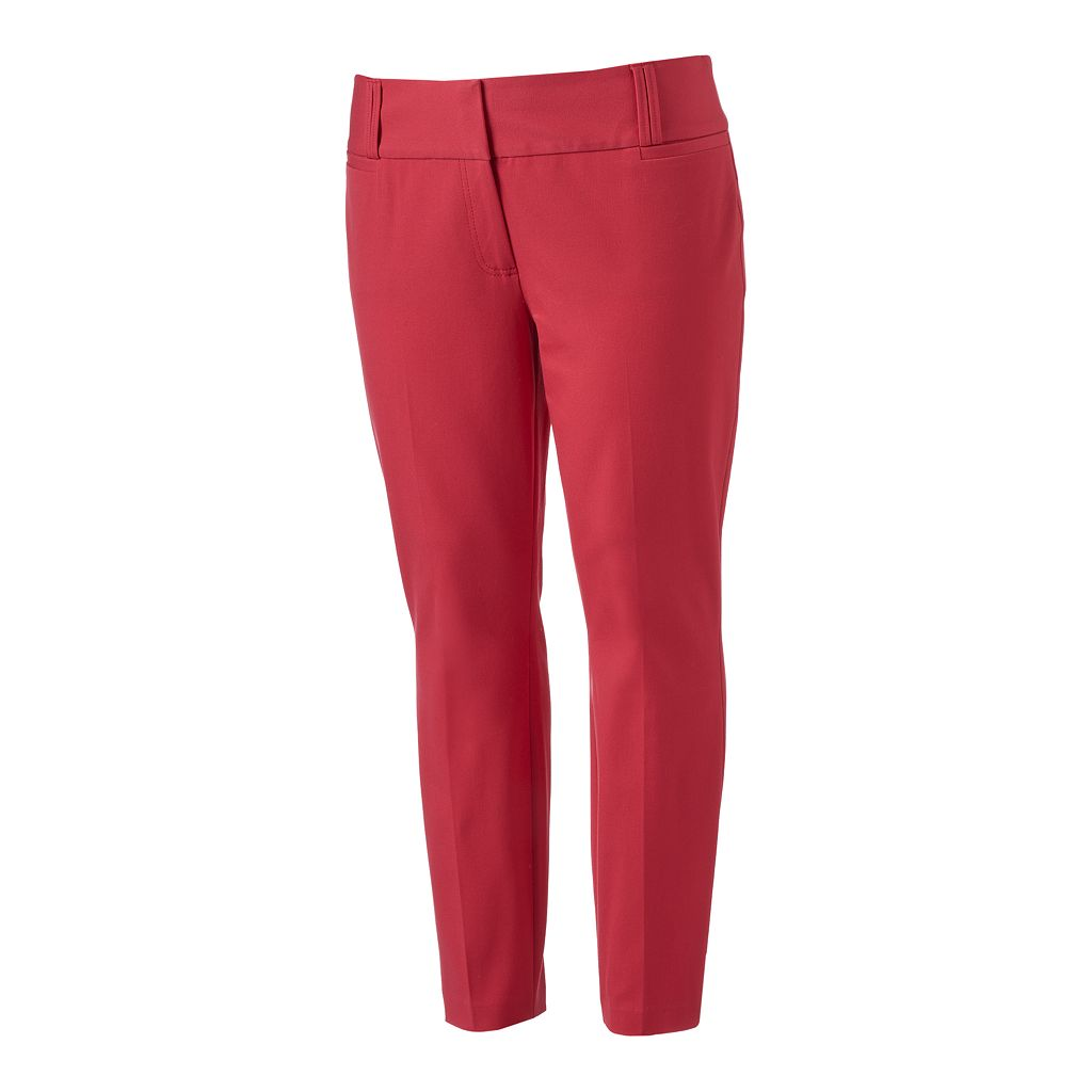 Juniors' Plus Size Candie's® Marilyn Ankle Pants