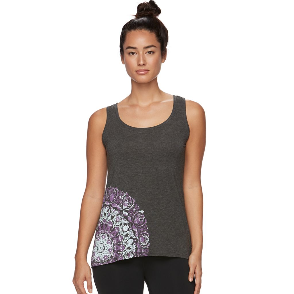 Women's Gaiam Harmony Graphic-Print Yoga Tank