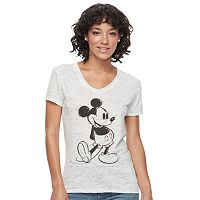 Disney's Mickey Mouse Juniors' High-Low Graphic Tee
