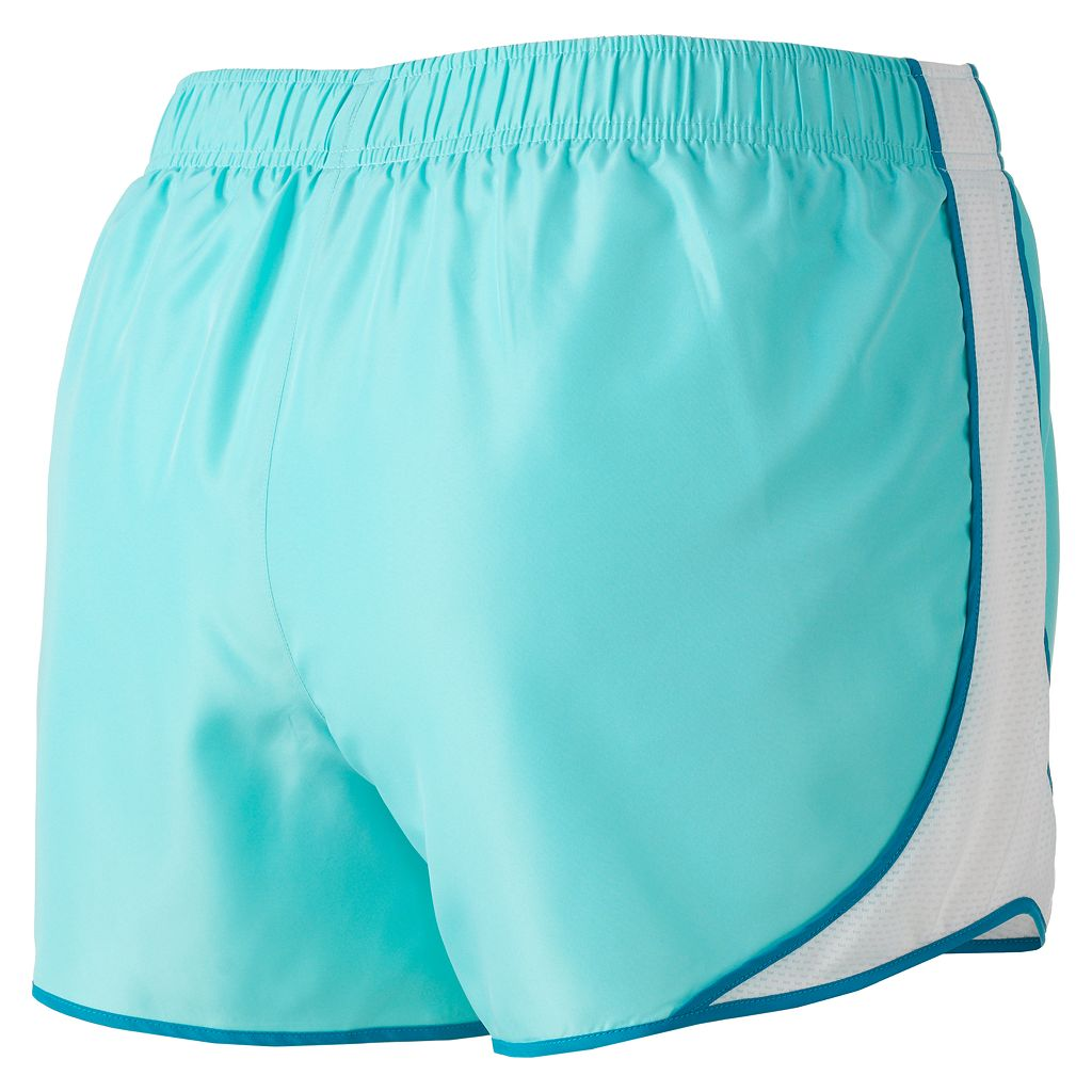 Juniors' Plus Size SO® Mesh-Panel Running Shorts