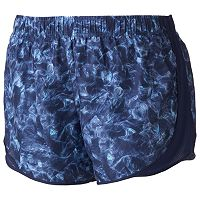 Juniors' Plus Size SO® Mesh-Panel Running Shorts