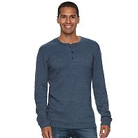 Men's SONOMA Goods for Life™ Slim-Fit Soft-Touch Stretch Thermal Henley