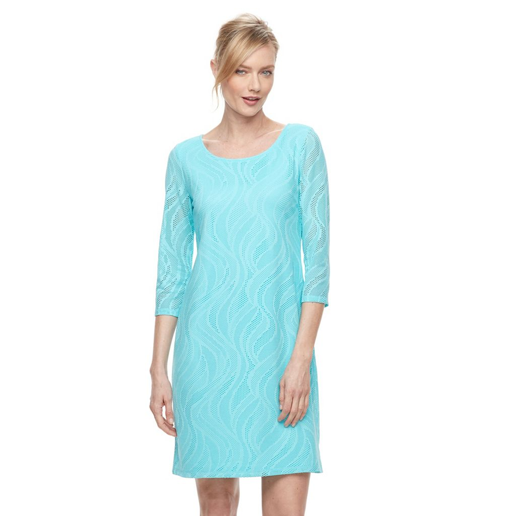 Petite Dana Buchman Lace Shift Dress