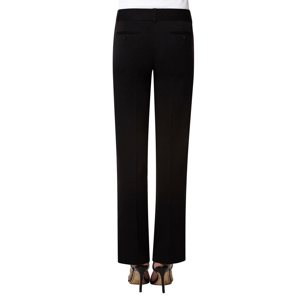 Women's Harve Benard Straight-Leg Dress Pants