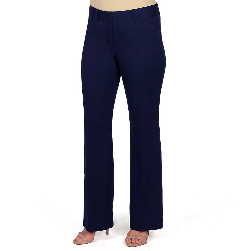 Women's Harve Benard Straight-Leg Dress Pants