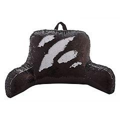 VCNY Mermaid Sequin Backrest Pillow