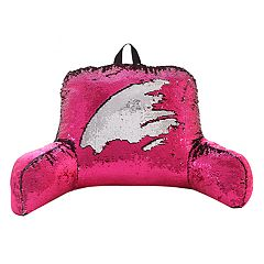 VCNY Mermaid Sequin Backrest Pillow