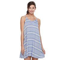 Juniors' SO® Print Swing Dress