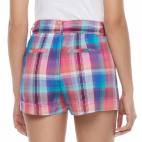 Juniors' SO® High-Rise Shortie Shorts