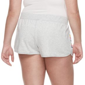 Juniors' Plus Size SO® Beach Squad French Terry Shorts